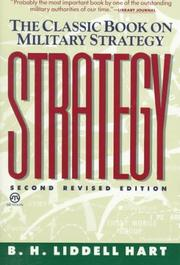 Cover of: Strategy by Sir Basil Henry Liddell Hart, Liddell Hart, Basil Henry Sir