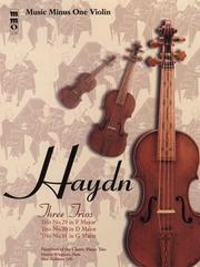 Cover of: Music Minus One Violin or Flute by Franz Joseph Haydn