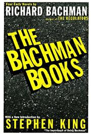 Cover of: The Bachman Books by Richard Bachman