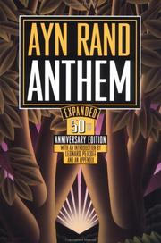 Cover of: Anthem by Ayn Rand