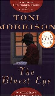 Cover of: The Bluest Eye by Toni Morrison