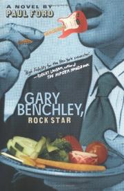 Cover of: Gary Benchley, rock star by Ford, Paul