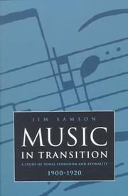 Cover of: Music in transition by Jim Samson