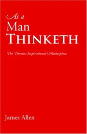 Cover of: As a Man Thinketh by James Allen