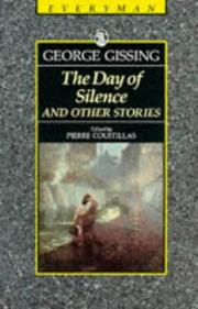Cover of: The Day of Silence and Other Stories by George Gissing