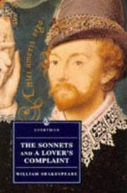 Cover of: Sonnets 1609 by William Shakespeare