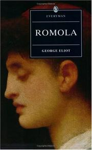 Cover of: Romola by George Eliot