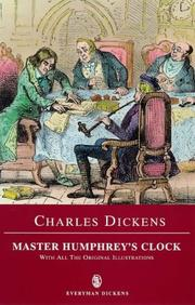 Cover of: Master Humphrey&#39;s Clock and Other Stories by Nancy Holder