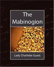 Cover of: The Mabinogion by Lady Charlotte Guest