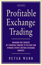 Cover of: Profitable Exchange Trading by Peter Webb