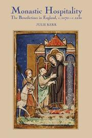 Cover of: Monastic hospitality by Julie Kerr