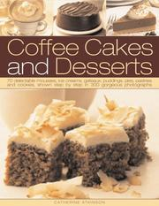 Cover of: Coffee Cakes and Desserts by Catherine Atkinson