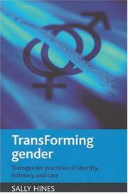 Cover of: TransForming Gender by Sally Hines