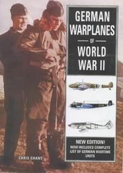 Cover of: German Warplanes of World War II by Chant, Christopher.
