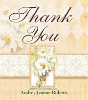Cover of: Thank You by Audrey Jeanne Roberts