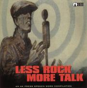 Cover of: Less Rock, More Talk (CD) by Various