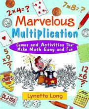 Cover of: Marvelous Multiplication by Lynette Long
