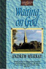 Cover of: Waiting on God by Andrew Murray