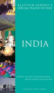 Cover of: India (Alastair Sawday's Special Places to Stay) by Alastair Sawday