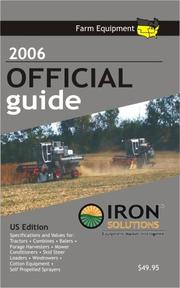 2006 Farm Equipment Official Guide US Edition IRON Solutions