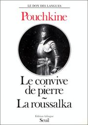 Cover of: Le convive de pierre by Aleksandr Sergeyevich Pushkin