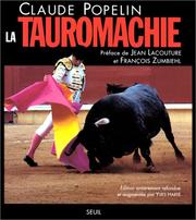 Cover of: La Tauromachie by Claude Popelin