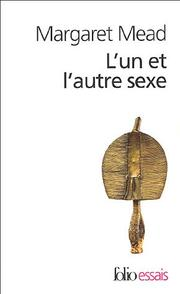 Cover of: Lun Et Lautre Sexe by Margaret Mead