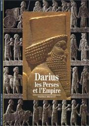 Cover of: Darius by Pierre Briant