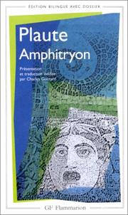 Cover of: Amphitryon by Titus Maccius Plautus