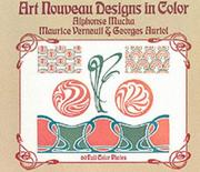 Cover of: Art nouveau designs in color by M. P. Verneuil