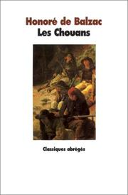 Cover of: Les Chouans by Honor de Balzac