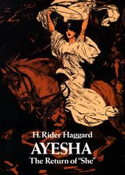 Cover of: Ayesha by H. Rider Haggard