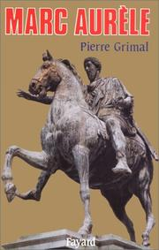Cover of: Marc Aurèle by Grimal, Pierre