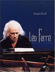 Cover of: Léo Ferré by Jacques Vassal