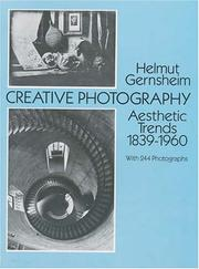 Cover of: Creative photography by Helmut Gernsheim
