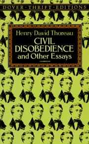 Cover of: The writings of Henry David Thoreau by Henry David Thoreau