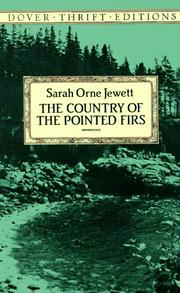 Cover of: The country of the pointed firs by Sarah Orne Jewett
