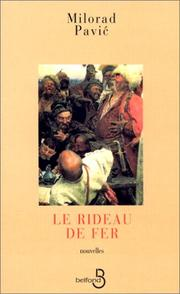 Cover of: Le Rideau de fer by Milorad Pavic