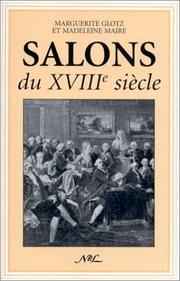 Salons du XVIIIe siecle Marguerite Glotz