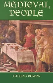 Cover of: Medieval people by Eileen Edna Power