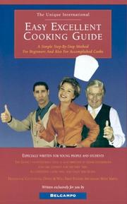 Cover of: Easy Excellent Cooking Guide by Belcampo [pseud.]