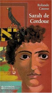 Cover of: Sarah de Cordoue by Rolande Causse