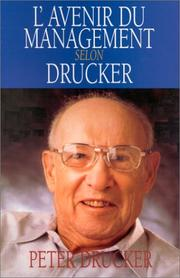 L'avenir du management (Peter Drucker)