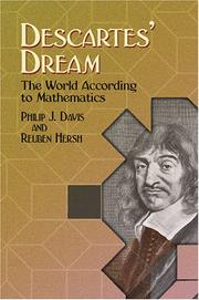 Cover of: Descartes' dream by Philip J. Davis