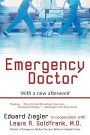 Cover of: Emergency Doctor by Edward Ziegler