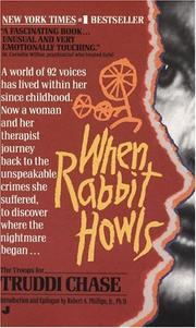 Cover of: When Rabbit howls by Truddi Chase