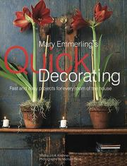 Cover of: Mary Emmerling's quick decorating by Mary Ellisor Emmerling