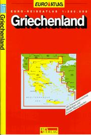 Cover of: Euro-Reiseatlas 1:300.000 by Reise- und Verkehrsverlag.