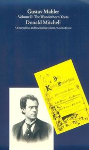 Cover of: Gustav Mahler by Mitchell, Donald