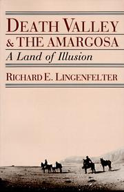 Cover of: Death Valley & the Amargosa by Richard E. Lingenfelter